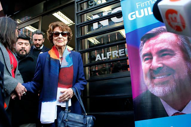 [VIDEO] Ángela Jeria llama a votar por Alejandro Guillier