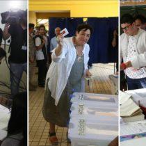 Entre desmayos, caídas, ataques verbales y lágrimas terminaron de votar los ocho candidatos presidenciales