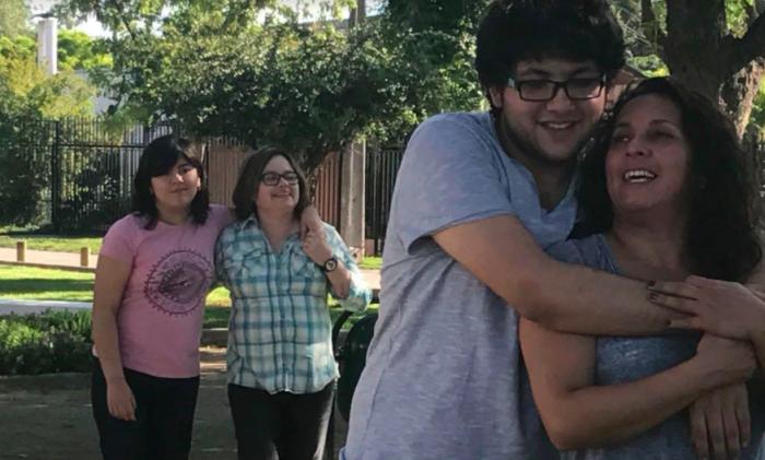 Alexis y sus dos mamás: las mujeres se alzan en la lucha por el matrimonio igualitario