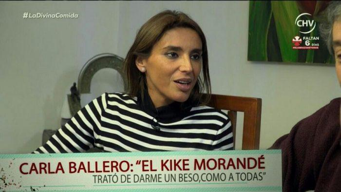 """[VIDEO] Carla Ballero relata episodio en que Kike Morandé habría intentado besarla """"como a todas"""""""