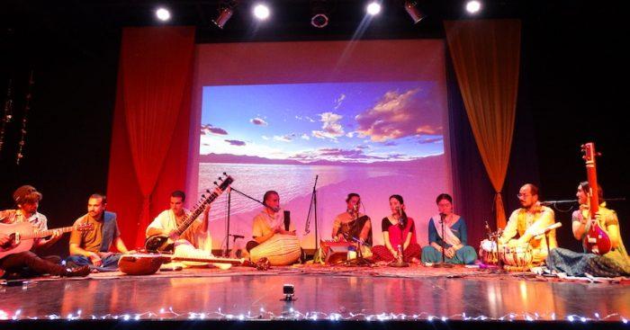"""Lanzamiento del nuevo disco de """"Krishna Sambandha"""" en Teatro Nescafé de las Artes"""