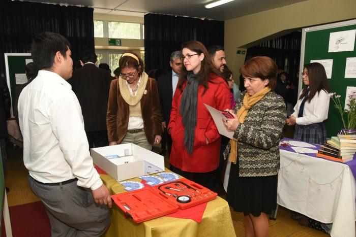 ExpoCefe 2017 presentó proyectos empresariales de estudiantes técnico profesionales de enseñanza media