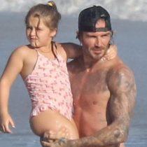 """Crueldad: Hija de 6 años de Victoria y David Beckham, es víctima de bullying en rrss por """"gorda"""""""