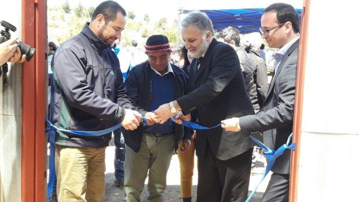 Inauguran iniciativa productiva en comunidad emblemática mapuche en el marco del programa de desarrollo y fomento indígena