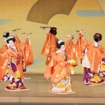 """Presentación gratuita del elenco de danza japonesa """"Kikunokai"""" en Teatro Municipal de Ñuñoa"""