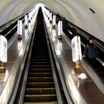 [VIDEO] Arsenalna, la estación de metro más profunda del mundo