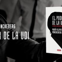 Libro El poder de la UDI de María Olivia Monckeberg