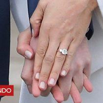 [VIDEO] Así fue como el príncipe Harry diseñó el anillo de compromiso que le regaló a Meghan Markle
