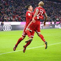 [VIDEO] No se queda atrás: Arturo Vidal convierte en victoria parcial del Bayern Munich