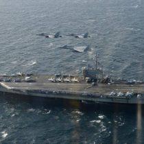 Avión militar de EE.UU cae al mar en Japón con 11 personas a bordo