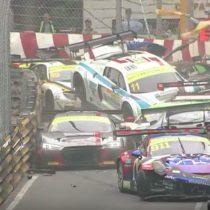 [VIDEO] La impresionante colisión múltiple que se produjo en el Campeonato FIA GT