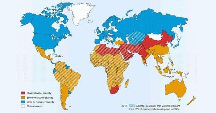 Crisis del agua: Chile se encontraría en zona de