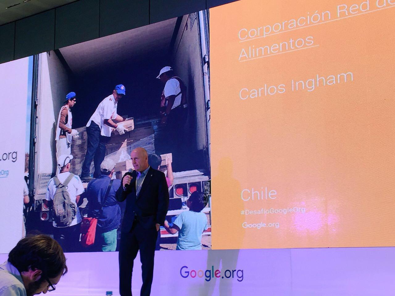 Red de alimentos, la ONG chilena es premiada a nivel latinoamericano por Desafío Google.org