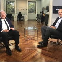 """La Mesa - Guillermo Pickering, presidente de Aguas Andinas: """"Sobre el 90% de las utilidades de la compañía equivale a inversión de la empresa"""""""