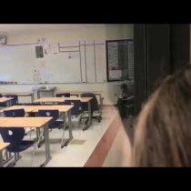 [VIDEO] Escándalo en Estados Unidos: estudiantes grabaron a profesora consumiendo drogas en la sala de clases