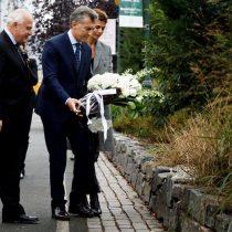 [VIDEO] Macri y alcalde de Nueva York rinden tributo a víctimas argentinas de ataque