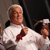 Piñera recuerda que resultó electo en 2010 pese a que la izquierda le sacó ventaja de 10 puntos en primera vuelta