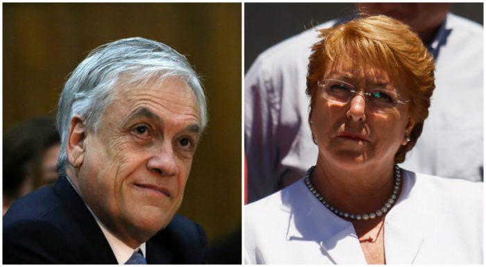 Bachelet reitera críticas contra Piñera por giro en gratuidad: