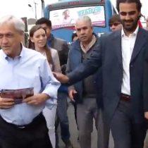 [VIDEO] El error no forzado de Piñera al responder la pregunta