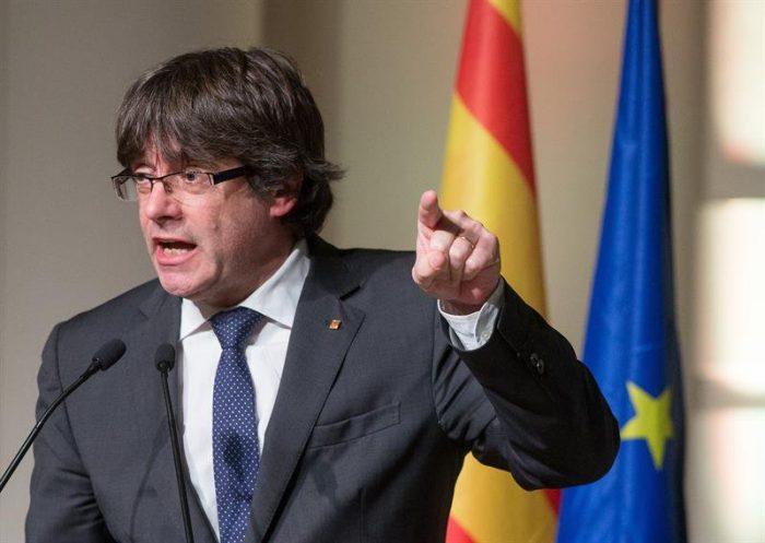 Puigdemont pide una