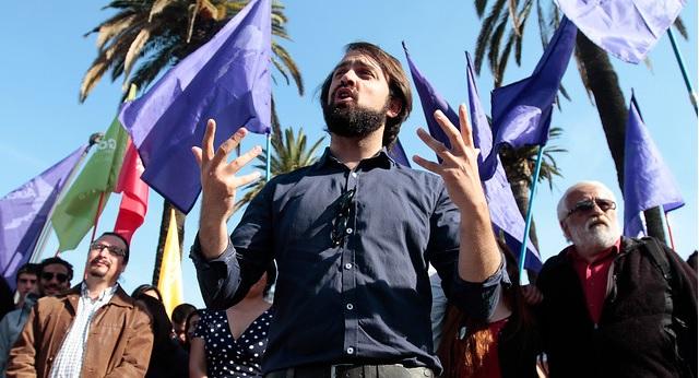 """Jorge Sharp: """"El FA no está llamado a reemplazar a la elite concertacionista, está llamado a refundar la política en Chile"""""""