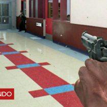 [VIDEO] El inquietante simulador que enseña a profesores y personal de emergencias a responder ante un tiroteo masivo en escuelas de Estados Unidos