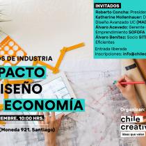 IV Encuentros de Industria El impacto del diseño en la economía en Auditorio Corfo