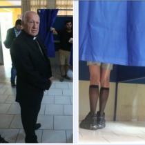 Diversidad democrática: Ricardo Ezzati coincide en votación con famosa Drag Queen
