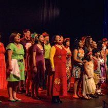 Homenaje a Violeta Parra de Coro Ciudadano en Parque Cultural de Valparaíso