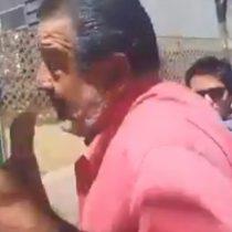 [VIDEO] Luksic es increpado por una trabajadora después de votar: