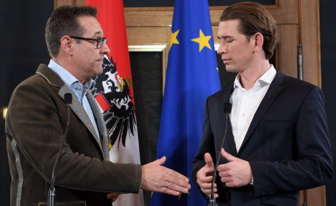 Austria tiene un acuerdo de coalición y será el único país de Europa Occidental con un partido de extrema derecha en el gobierno
