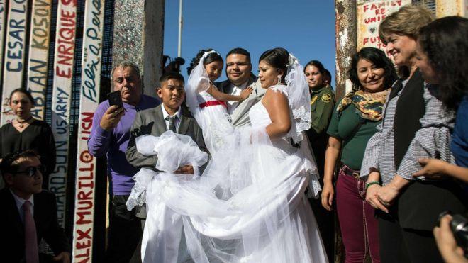 El hombre que se casó con su prometida en la frontera de México y Estados Unidos resultó ser un traficante de drogas