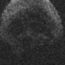 El regreso en 2018 del asteroide Halloween con forma de calavera