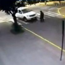 [VIDEO] Conductora queda con firma mensual tras atropellar y dar muerte a anciano en Victoria