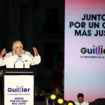 """Con Guillier como telonero """"Pepe"""" Mujica fue el gran rock star en el cierre de campaña del oficialismo"""