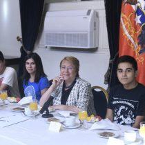 Bachelet y puntajes nacionales: