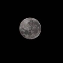 Super luna en Concón