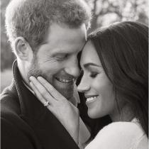 Las fotos oficiales del compromiso del Príncipe Harry y Megan Markle