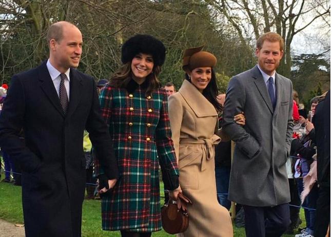 ¡Duelo de estilo! Empezaron las comparaciones entre Kate Middleton y Meghan Markle