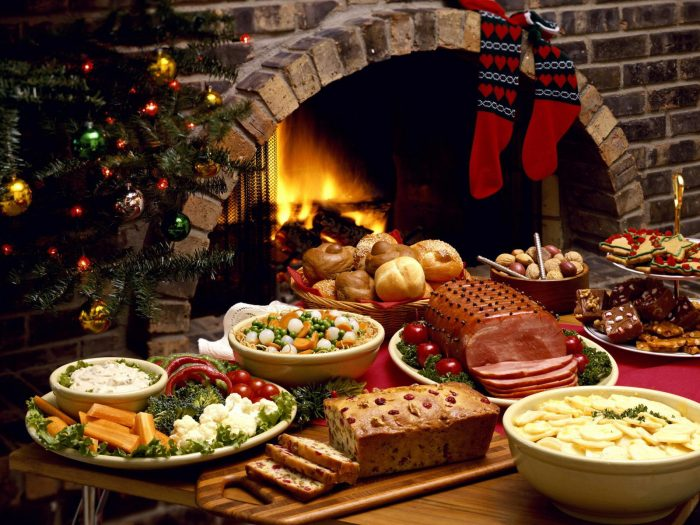 ¿Sabes cuántas calorías consumes durante la cena navideña?