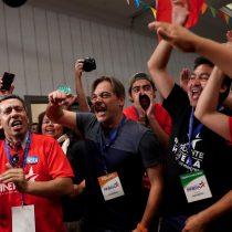 [VIDEO] Adherentes de Sebastián Piñera ya comienzan a celebrar que vienen