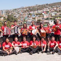 Concierto de Ensamble Transatlántico de Folk Chileno en Patio Bellavista