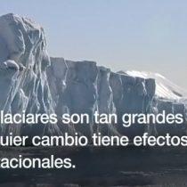 [VIDEO] Las impactantes imágenes de Groenlandia sin su cubierta de hielo