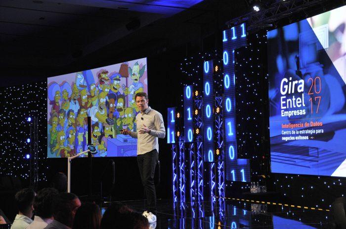 Reconocido ex guionista de Pixar expuso sobre cómo el Big Data se puede aplicar tanto a historias como a los negocios