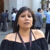 Marcela Jiménez desde La Moneda: silencio total en La Moneda