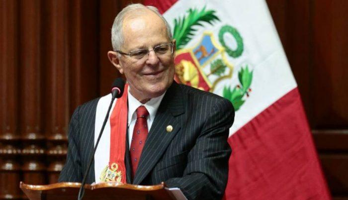 Presidente de Perú por supuestos vínculos con Odebrecht: