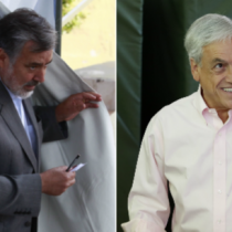 Lanzan huevos a Guillier y lienzo acusa de ladrón a Piñera: los incidentes aislados que marcan la votación de los candidatos