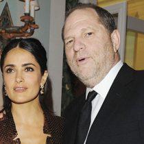 """Harvey Weinstein respondió a Salma Hayek: """"Acusaciones sexuales no son precisas"""""""