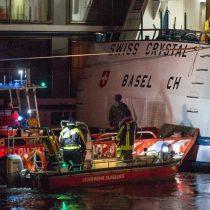 Choque de crucero contra un puente del río Rin deja 27 heridos en Alemania