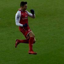 [VIDEO] Alexis Sánchez se despide del 2017 (¿y del Arsenal?) con un golazo de tiro libre ante el West Brom